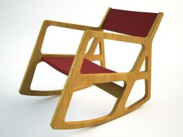 chair - fast modelling comp by zipper
