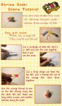 Shrimp Sushi Charm Tutorial by CuteGio