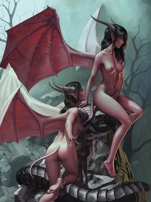 Succubi by PemaMendez
