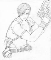 Leon Kennedy by ShainaOtori