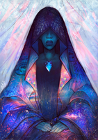 Steven Universe: Blue Diamond by Kholouz