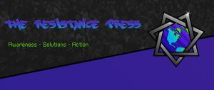 The Resistance Press Logo and banner by WallHaxx
