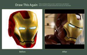 Draw This Again - Iron Man by anakrusix