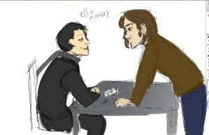 Day 16: Crowley Sam by StalkerWitch
