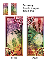 Japanese currency project by Saruteku