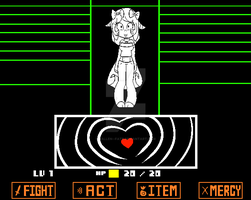 Heart Attack {Undertale Oc} by FallenFateAdopts