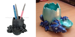 Dragon Pencil Holder by BlackUmbral