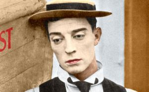 Buster Keaton Colorized by ajax1946