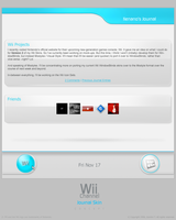 Wii Channel Journal Skin by tienano