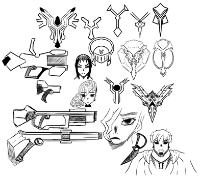 8.3.16 Sketches by shadowlord19