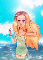 Summer by Lamamilie