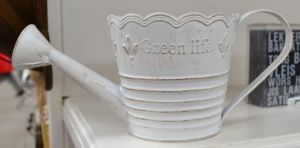 Watering Can White 1 by RecreateStock