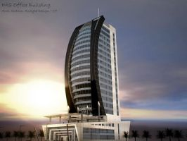 Office Building1 by Eibo-Jeddah