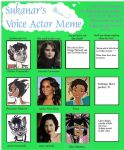 Voice Actor Meme for Mad Possum by Evanescence412