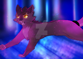 Wolfpaw (Art Trade) by StarGazingHipster