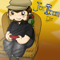 JonTron and Jacques by LadyMako