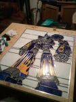 Megas XLR on the work table by Remdog13