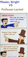 Layton VS Wright by Danielle93