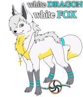 1,white FOX by whiteDRAGON1whiteFOX