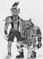 Beebop and Rocksteady today by Fernoll