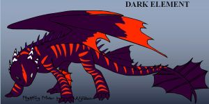my night fury form by element-dragonx