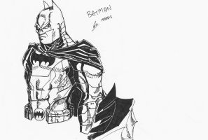 Batman Portait by Arddy24