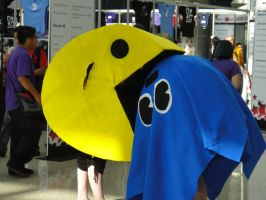 Anime Expo 2010 : Pac Man by A-U-R