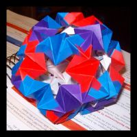 Waterbomb Dodecahedron by NegaZero