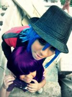 Gorillaz Cosplay- My real love is you by haozeke93