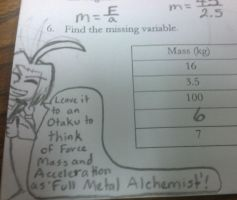 Full Metal Alchemist Helps Me in Physics? by GrovyleFangirl1997