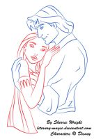 Pocahontas And John by literary-magic