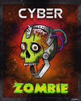Cyber Zombie by MintyFreshThoughts