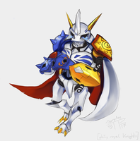 DailyRoyalKnights (4) Omegamon by J3rry1ce