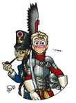 Lesbian Hussar by Qsy-and-Acchan
