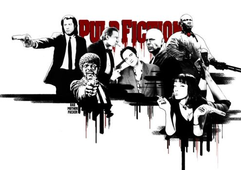 Pulp Fiction by Synow