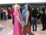 PB and Marceline Metrocon 2011 by Xariana16