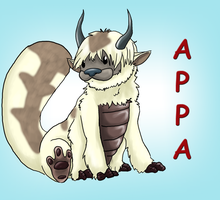 Appa Colored by Sciggles