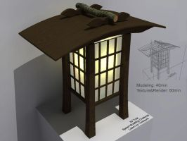 3D Work - Lamp by tomkpunkt