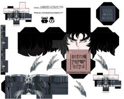 HADES SAINT SEIYA CUBEE by animepapertoys