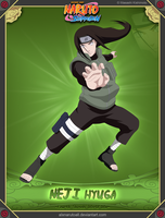 Neji Hyuga -Fourth Shinobi World War- by alxnarutoall