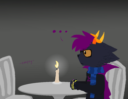 Cody: Go on a candle light hate date by Purrlstar