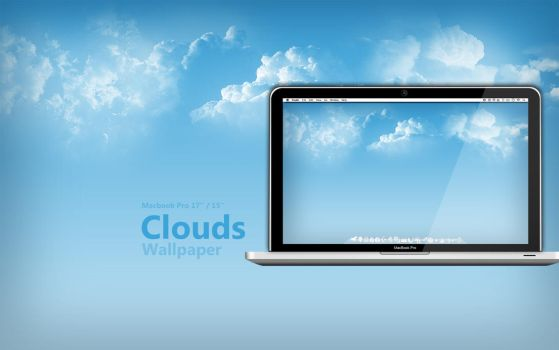 MBP Clouds Wallpaper by Martz90