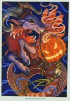 October ACEO: Rip-rap by spocha