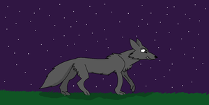 Lone wolf by 001glaceonice001