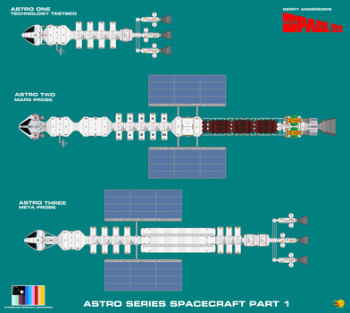 Astro  Series Spacecraft Part 1 by ArthurTwosheds