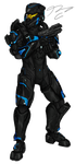 Commission - Spartan NanoDefiant by Guyver89