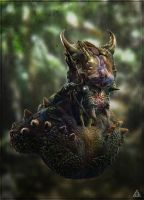 Demon Forest render by jamga