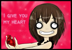 I give you my heart by Zoehi
