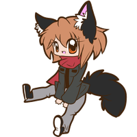 Wolfy Blinky :COM: by Sutexii