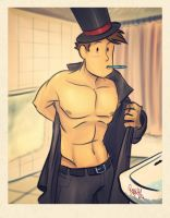 Layton Snap by RangyRougee